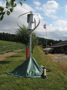 Less 25dB 2000W Maglev Vertical Wind Turbine Generator pictures & photos