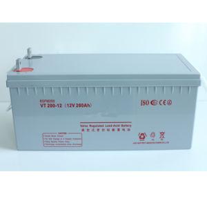 Inverter 12V200ah Sealed Rechargeable AGM Lead Acid Battery for Solar
