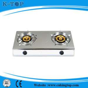 Stainless Steel Brass Cap Gas Stove