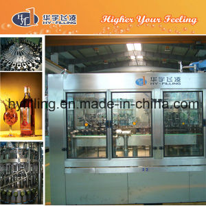 Glass Bottle Rice Wine Filling Monoblock pictures & photos