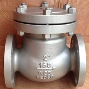 Wcb/Wc6/Wc9 Carbon Steel API Flanged Swing Check Valve pictures & photos