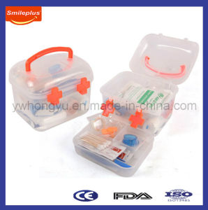 Transparent PP First Aid Box in Medium Size pictures & photos