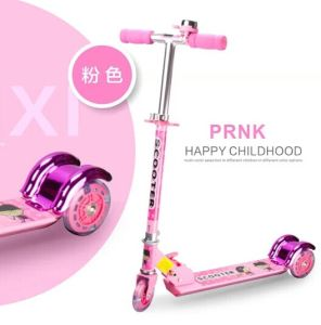 2016 Kids Scooter with Pink Color (BX-3M005) pictures & photos