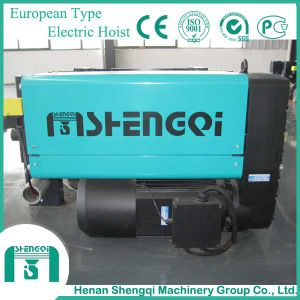 European Type Factory Workshop Wire Rope Electric Hoist pictures & photos