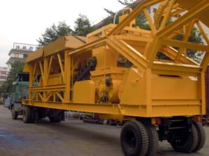 Yhzs 75 Mobile Concrete Batching Plant (75m3/h) pictures & photos
