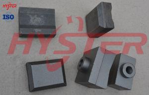 Bimetallic White Cast Iron Shredder Hammer Tips for Sugarcane Mill pictures & photos