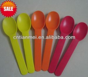 Self Serve Frozen Yogurt Plastic Spoon pictures & photos