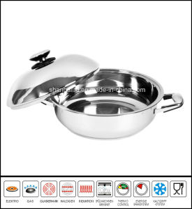Jumbo Skillet with Dome Cover pictures & photos