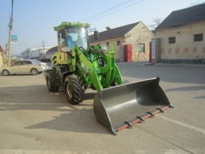 1.6 Tons Small Wheel Loader, Mini Wheel Loader with CE pictures & photos