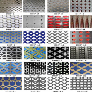 Hexagonal Perforated Stainless Steel Metal Sheet Price pictures & photos