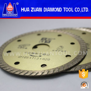 Turbo Type Diamond Cutting Disc pictures & photos