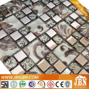 Modern Simple Style, Wall Decoration, Silver Bright Glass Mosaic (G655013) pictures & photos
