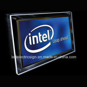 The Processor Posters of LED Crystal Light Box pictures & photos