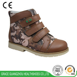 Grace Ortho Children Orthopedic Shoes Leather Shoes pictures & photos