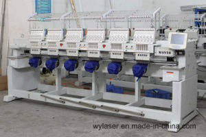 6 Head Commercial Embroidery Machine with Multi Needle for Sale pictures & photos