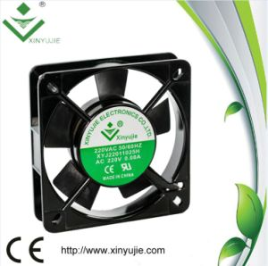 Xj11025h 110mm AC Axial Fan 220V Auto Electric Fan pictures & photos