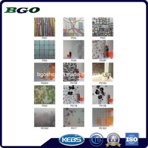 Window & Wall Self-Adhesive Film, PVC Self-Adhsive Decorative Foil pictures & photos