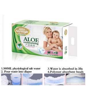 Diapers with Magic Elastic Sticker for Baby (M) pictures & photos