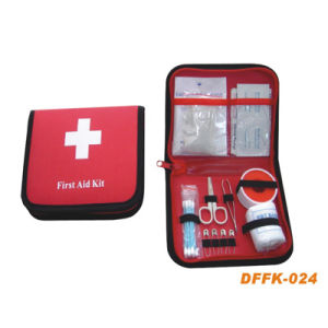 Trave First Aid Kit for Outdoors (DFFK-024) pictures & photos
