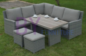 by-455 New Model Good Design Outdoor Garden Rattan Sofa Set pictures & photos