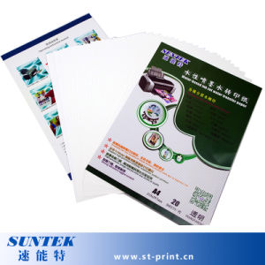 A4 Inkjet Transparent Water Deal Transfer Paper pictures & photos