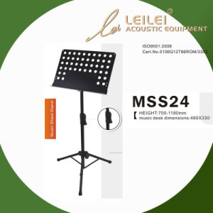 Tripod Base Music Sheet Stand (MSS24) pictures & photos