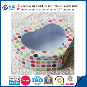 PVC Window Heart Shaped Gift Box pictures & photos
