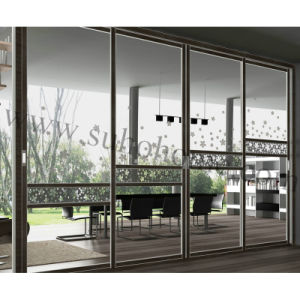 Excellent Design Aluminum Glass Sliding Door for Partition