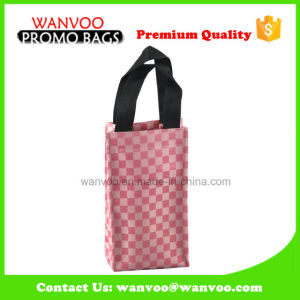 Pink Promotional Oxford Carry Bag Wine Bag for Supermarket pictures & photos