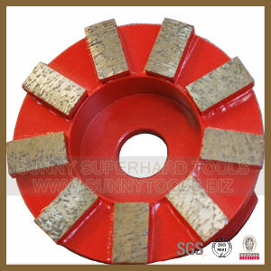 Segmented Diamond Grinding Disc Plate for Stone Concrete pictures & photos