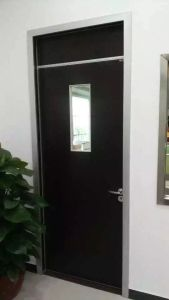 China Melamine HDF Swing Office Door pictures & photos