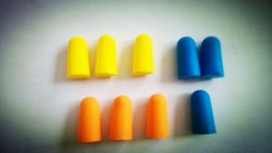 CE Safety PU Earplug with Function of Soundproof /Noise Reduction pictures & photos