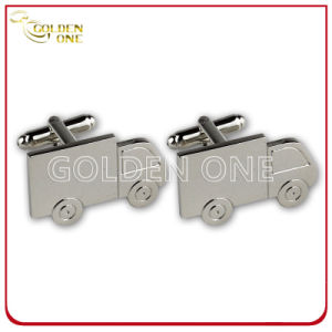 Fancy Design Superior Car Shape Nickel Plated Cufflink pictures & photos