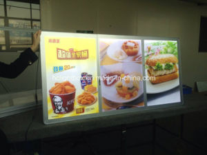 Good Quality Shenzhen Magnetic Board Acrylic Frame LED Light Box! pictures & photos