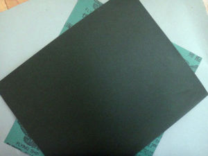 Blue Waterproof Aluminium Oxide C-Wt Craft Paper for Wood Polishing FM35 800# pictures & photos