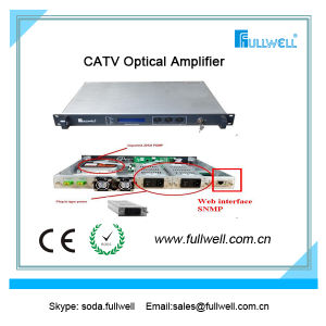 High Power 33dBm CATV 1550nm EDFA Optical Amplifier pictures & photos