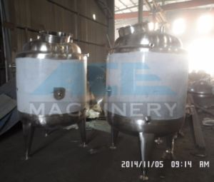 Sanitary Bottom Mixing Tank with VFD Used for Juice Production pictures & photos