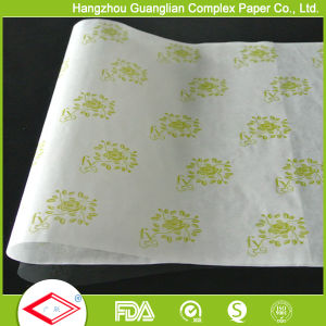 38g Printed Hamburger Sandwich Wrapping Paper Greaseproof Paper pictures & photos