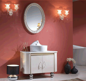 Cheap Stainless Steel Bathroom Vanity (T-002) pictures & photos