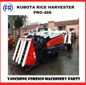 Kubota Combine Harvesrer PRO-488 pictures & photos