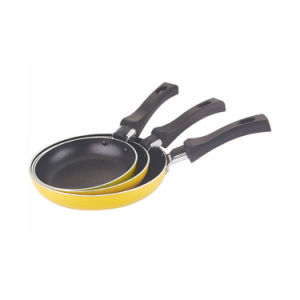 Home Basic 3 PCS Nonstick Coated Aluminium Egg Pans Sets pictures & photos