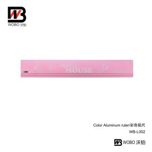 Office Stationery Color Cartoon Aluminum Ruler for Student Measuring pictures & photos