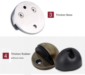 High Quality 304 Stainless Steel Rubber Door Closer (C805) pictures & photos