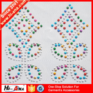 Know Different Market Style Good Price Rhinestone Iron on Patches pictures & photos