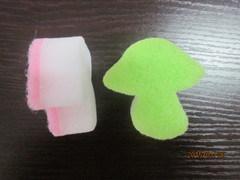 Lovely Mushroom Shape Melamine Sponge, Cleaning Sponge, Magic Melamine Sponge for Cleaning pictures & photos