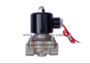 Direct Acting High Pressure Piston Solenoid Valve Stainless Steel pictures & photos