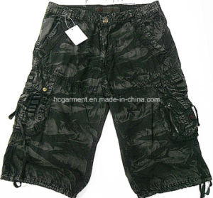 Leisure Casual Camouflage Cotton Cargo Jogger Washing Pants for Man pictures & photos