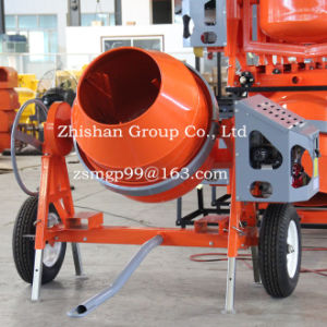CMH320 (CMH50-CMH800) Electric Gasoline Diesel Portable Cement Concrete Mixer Machine pictures & photos