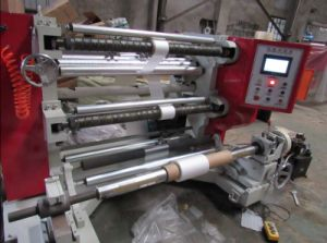 Computer Plastic Tapes Slitting Rewinding Machine pictures & photos