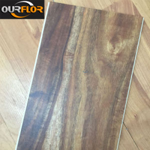 Newly Wood Grain WPC Vinyl Floor Tiles pictures & photos